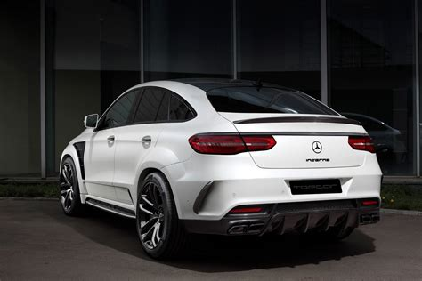 topcar unveils inferno tuning kit  mercedes gle