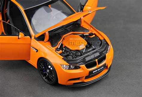 1/18 Kyosho Bmw E92 M3 Gts Coupe Alpine White Bbs Carbon Roof