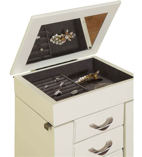 jewelry drawer organizer 5 drawer jewelry armoire in jewelry armoires