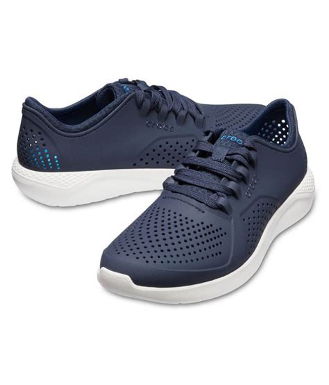 crocs relaxed fit sneakers navy casual shoes buy crocs