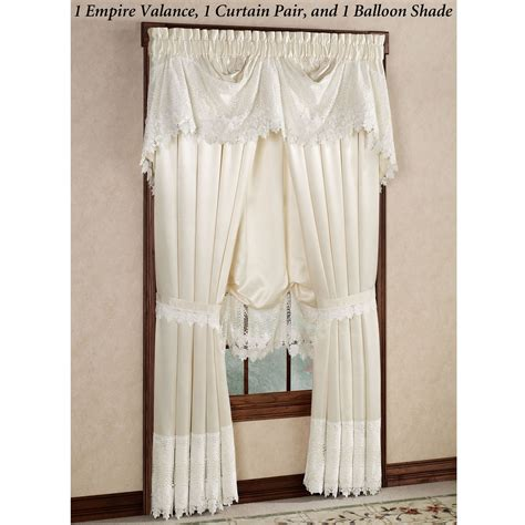 touch of class curtains trousseau lace curtains
