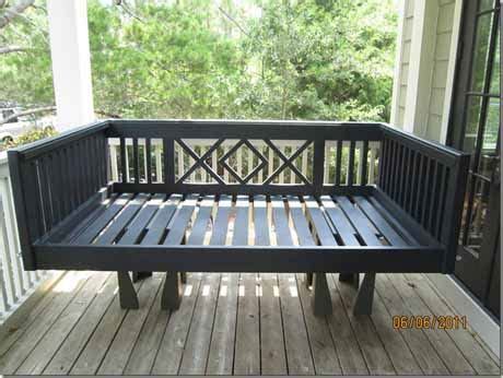 outdoor bed frame quotes sitting on porch swing quotesgram