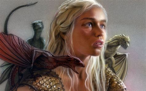 game  thrones images mother  dragons hd wallpaper
