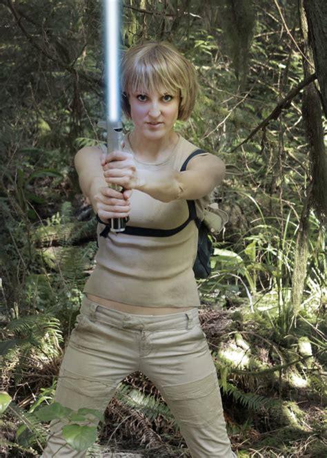 luke skywalker cosplay crossplay dagobah female fi rule training gs geek materials amazing mmmm digging totally wars am star jade