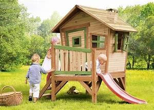 Spielhaus Holz Garten : holz kinder spielhaus krummy klein gartenhaus comic ~ Articles-book.com Haus und Dekorationen