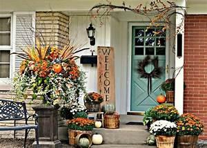 Herbstgestecke Für Draußen : herbst deko f r drau en 30 ideen f r sch nen hauseingang ~ Michelbontemps.com Haus und Dekorationen