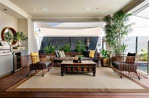 Belle Maison Moderne  U00e0 La D U00e9co  U00e9clectique En Australie