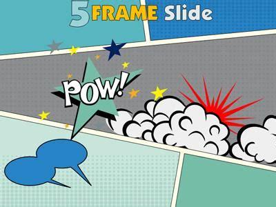 comic book powerpoint template   briskiinfo