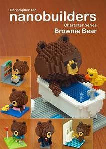 My Nanoblock Brownie Bear Build Instructions Ebook Is Now