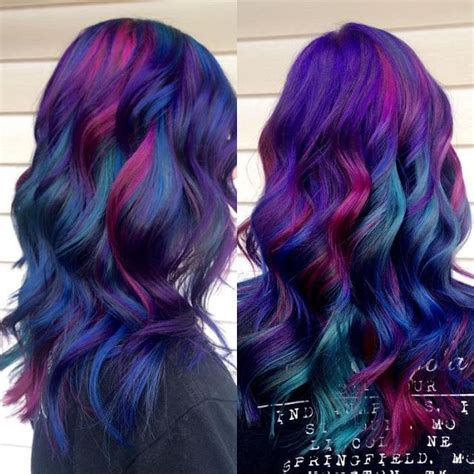 multi hair color dying for hair dyeing hairstyles