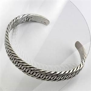 Bracelet En Argent Homme : bracelet argent homme manchette agate you ~ Carolinahurricanesstore.com Idées de Décoration