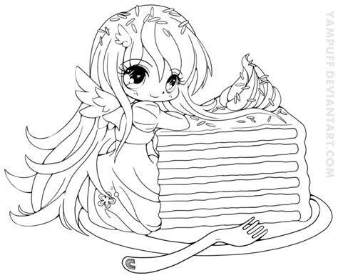 Lineart By Yampuff On Deviantart