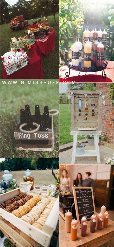 20 Backyard Barbecue Ideas for a Fun Wedding Reception