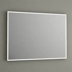 miroir lumineux led salle de bain anti buee 80x60 cm With miroir salle de bain sans buee