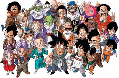 Dragon ball z / cast Dragon Ball Z characters in the picture? Quiz - By luckylouis91