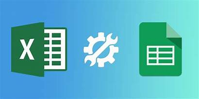 Excel Google Sheets Features Microsoft Spreadsheet Usability