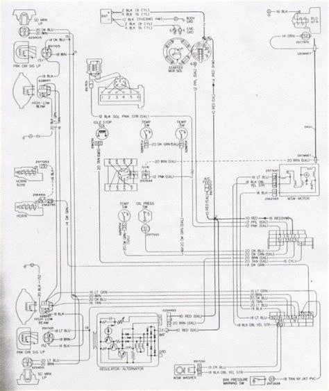 camaro engine  light wiring schematic