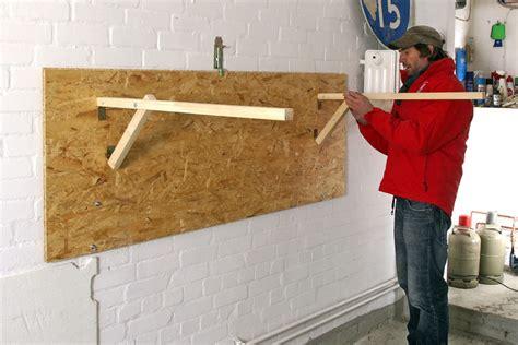 tisch an wand befestigen tisch an wand befestigen schreib und spieltisch in einem m bel selber machen schreibtisch