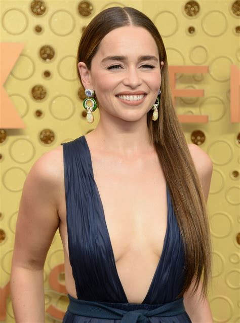 Welcome to enchanting emilia clarke, a fansite decided to the actress most known as daenerys targaryen from game of thrones since 2011. EMILIA CLARKE at 71st Annual Emmy Awards in Los Angeles 09/22/2019 - HawtCelebs