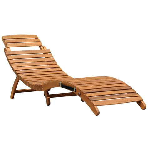 Reclining Garden Furniture by Bentley Garden Sun Loungers Wooden Curved Buydirect4u