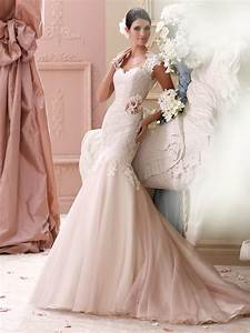 light pink wedding dress With pink dress for wedding