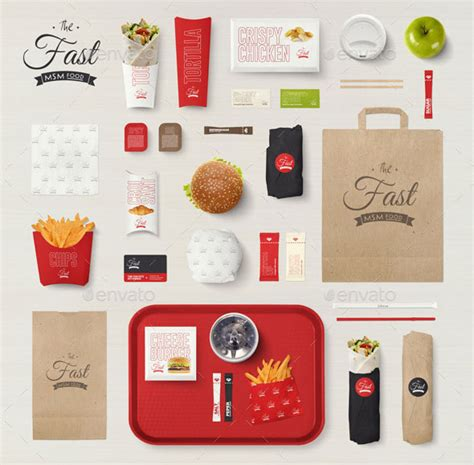 Use the smart layer to drop your designs. 30 High Quality PSD Restaurant Mockup Templates - Bashooka