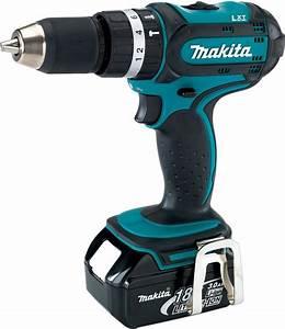 Makita Multifunktionswerkzeug 18v : makita 18v 3 0ah li ion 13mm hammer driver drill dhp452rfe cordless drills impact drivers ~ Frokenaadalensverden.com Haus und Dekorationen