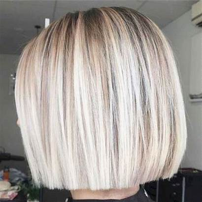 Bob Blunt Hairstyles Cut Adorable Give Thin
