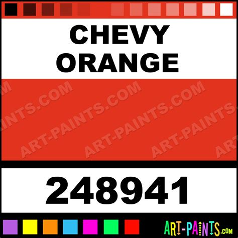 chevy orange engine paint colors chevy free engine image