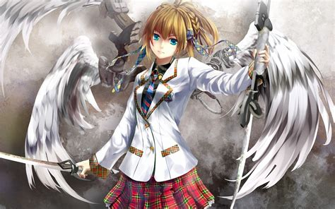 Anime Wallpapers HD : Anime Angel Wings Hd Image