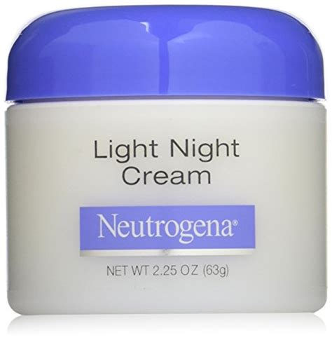 neutrogena light night cream neutrogena light night cream 2 25 ounce 11street