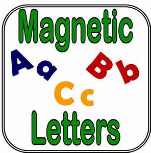 magnetic letters for signs letter of recommendation With die cut magnetic letters