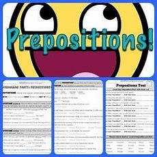 1000+ Images About Prepositions On Pinterest  Preposition Activities, Language Arts Worksheets