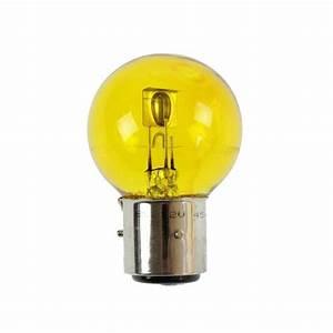 Ampoule Led 12 Volts Voiture : ampoule 12v 4540w jaune ba21d 3 ergots type marchal ~ Medecine-chirurgie-esthetiques.com Avis de Voitures