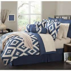 16 piece comforter set durham navy blue soutwest ensemble bedroom kin