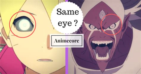 Whatt?? They Are Same ?? Boruto And Kinshikis Eyes Are