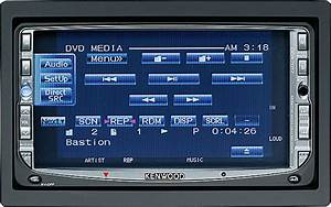 Kenwood Ddx 7017 In-dash Player Dvd  Nav  Mp3  Ipod