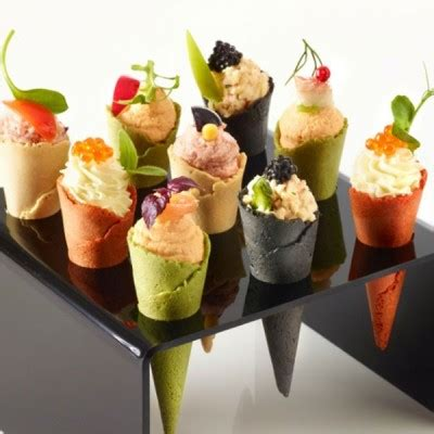 bases for canapes canape cones four colours 7 5cm x 96 508
