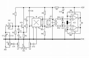 Wiring Schematic Diagram  40 M Band Direct Conversion Receiver