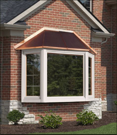 Window In Roof Is Called by Bay Window Covers Cypress Metals