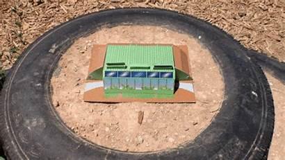 Models Combined Earthship Kit Village Dream Infinitely