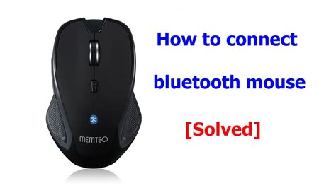 How To Setup Connect Pair Bluetooth Wireless Mouse Memteq