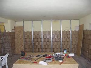Doubler Un Mur En Placo Sur Rail : isolation phonique osb ou placo isolation id es ~ Dode.kayakingforconservation.com Idées de Décoration