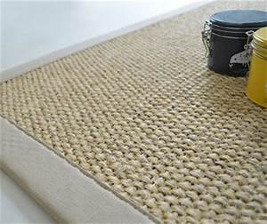 decoration de la maison tapis jonc de mer sur mesure With tapis fibre coco