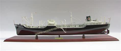 texaco ohio oil tanker wooden model ship ready  display