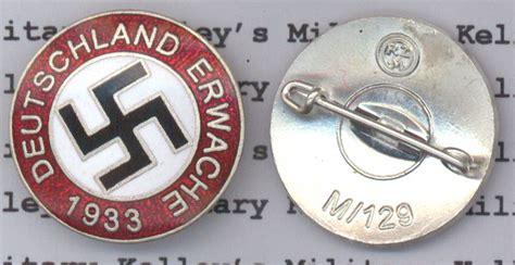 deutschland erwache party badge kelleys military