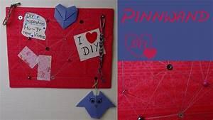 Pinnwand Selbst Gestalten : diy pinnwand selber machen als geschenk als deko oder ~ Lizthompson.info Haus und Dekorationen