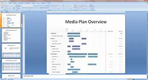 create persuasive media plan powerpoints with bionic With advertising media plan template