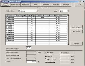 Zinssatz Berechnen Excel : datamatec s umniszinsrechner 1 download rechnung berechnen si ~ Themetempest.com Abrechnung
