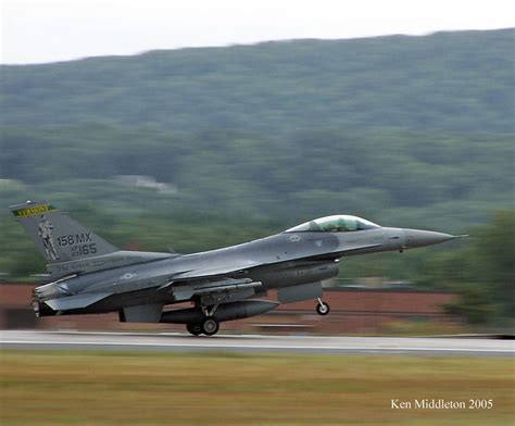 F-16s of the USAF and ANG by Ken Middleton